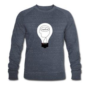 Kunstbox Kreativleuchte - Männer Bio-Sweatshirt von Stanley & Stella