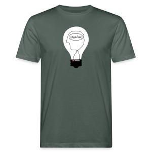 Kunstbox Kreativleuchte - Männer Bio-T-Shirt