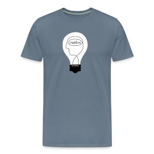 Kunstbox Kreativleuchte - Männer Premium T-Shirt