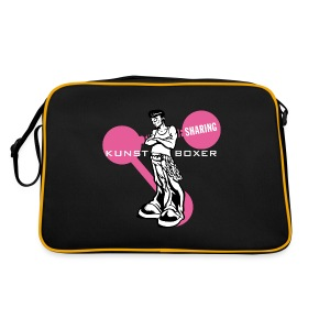 Kunstboxer Sharing Bag - Retro Tasche