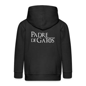 Camiseta hombre - Chaqueta con capucha premium niño