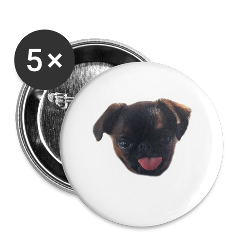 French kiss to go! - Buttons small 25 mm