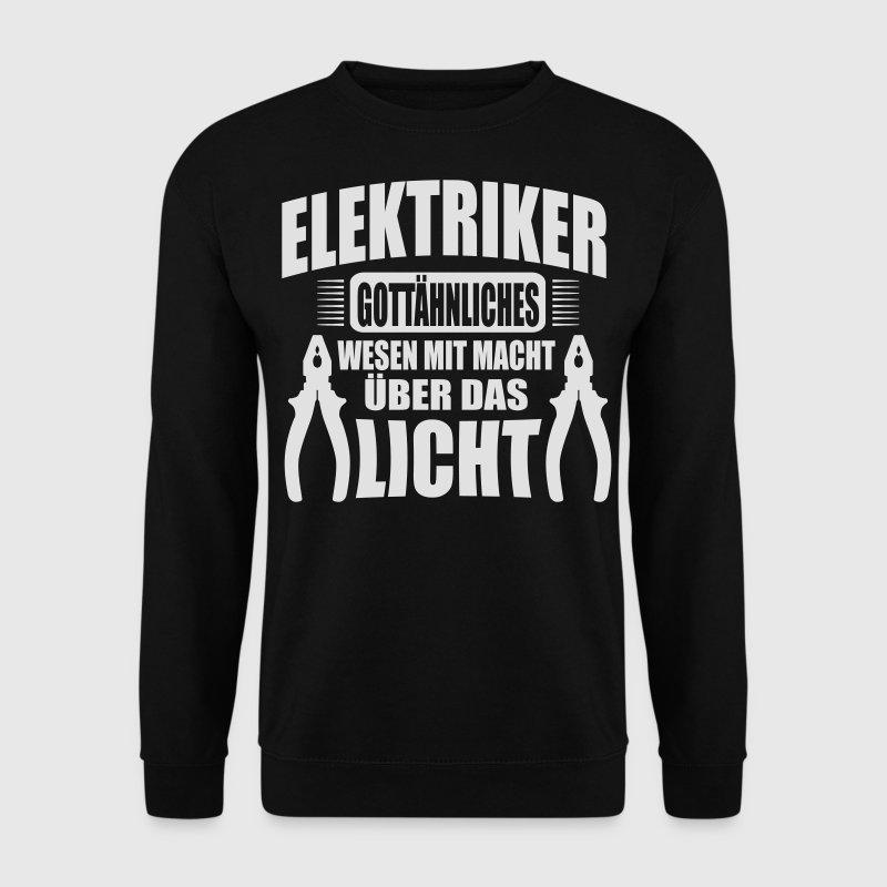 elektriker. gottähnliches wesen mit macht Pullover & Hoodies - Männer Pullover