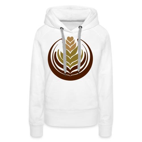 Florette Design T Shirt - Women's Premium Hoodie