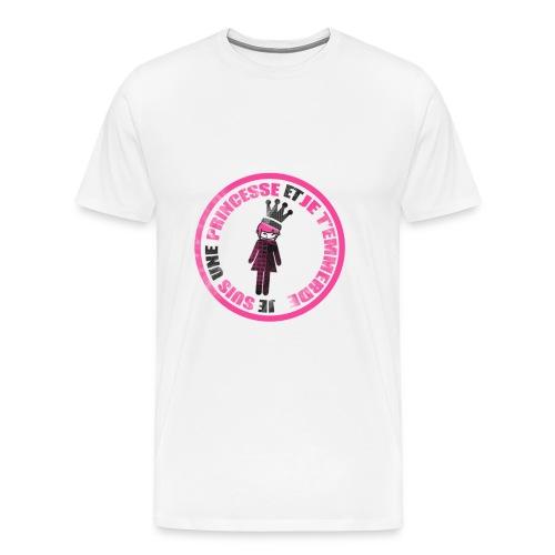 Tee shirt princesse et t'emmerde  - T-shirt Premium Homme