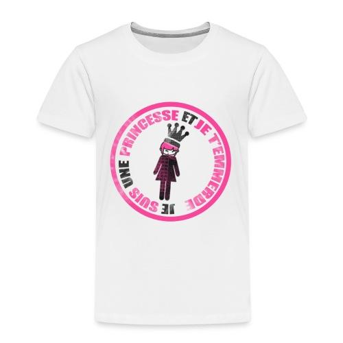 Tee shirt princesse et t'emmerde  - T-shirt Premium Enfant