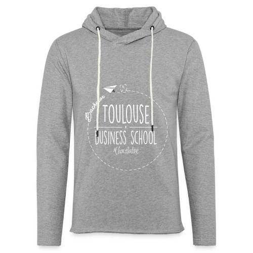 Hoodie, white logo - Light Unisex Sweatshirt Hoodie