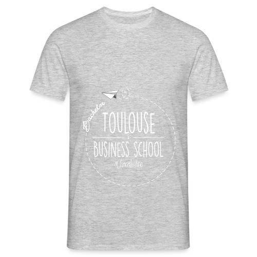 Hoodie, white logo - Men's T-Shirt