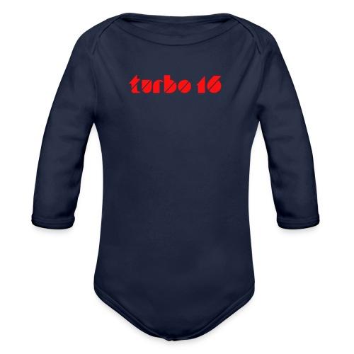 Tshirt Turbo16 - Body bébé bio manches longues