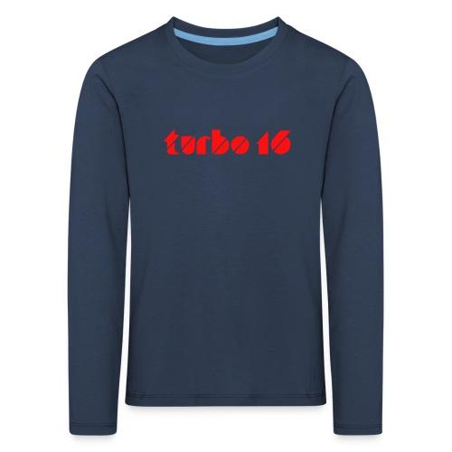 Tshirt Turbo16 - T-shirt manches longues Premium Enfant