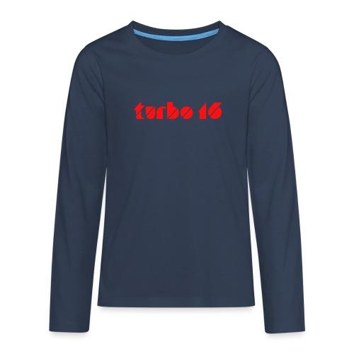 Tshirt Turbo16 - T-shirt manches longues Premium Ado