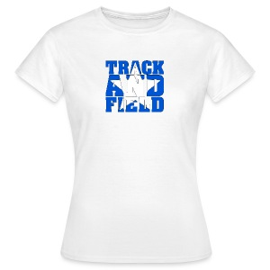 Sport Shirt Woman Track And Field USA - Frauen T-Shirt
