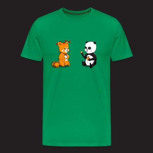 Pandas - T-shirt Premium Homme