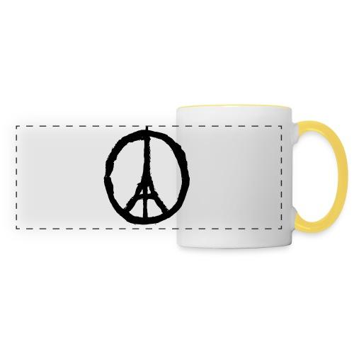 Peace for Paris - Tee shirt Femme - Panoramic Mug
