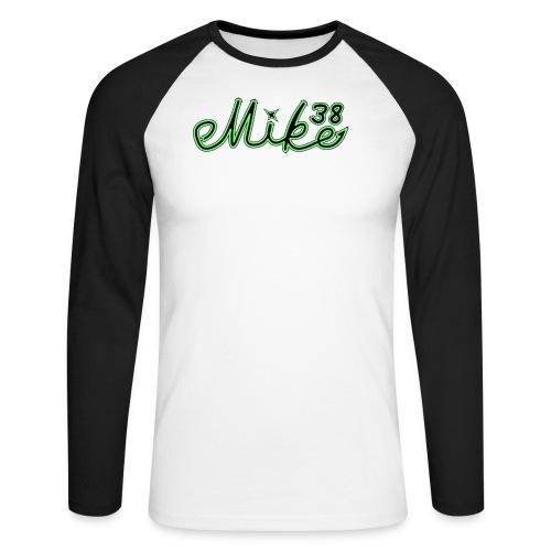 Mike logo T-paita - Miesten pitkähihainen baseballpaita