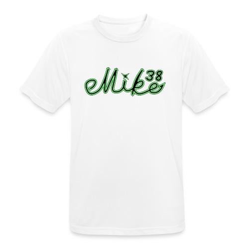 Mike logo T-paita - miesten tekninen t-paita