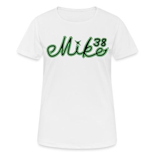 Mike logo T-paita - naisten tekninen t-paita