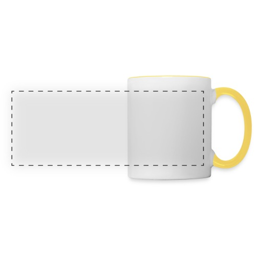 Outerzone t-shirt, white logo - Panoramic Mug
