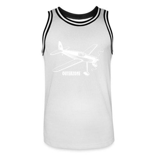 Outerzone t-shirt, white logo - Men's Basketball Jersey