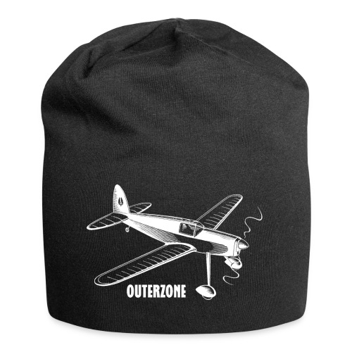 Outerzone t-shirt, white logo - Jersey Beanie