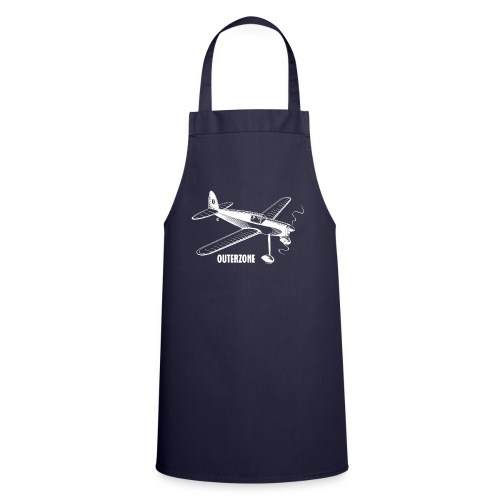 Outerzone t-shirt, white logo - Cooking Apron