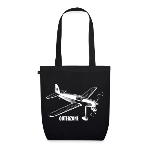 Outerzone t-shirt, white logo - EarthPositive Tote Bag