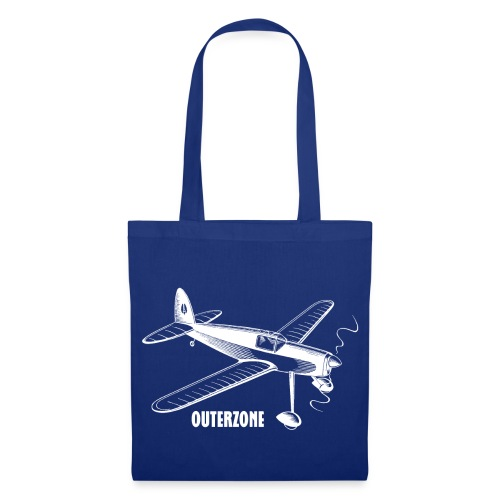 Outerzone t-shirt, white logo - Tote Bag