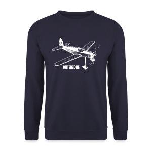 Outerzone t-shirt, white logo - Men's Sweatshirt