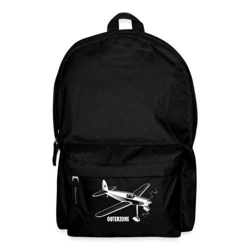 Outerzone t-shirt, white logo - Backpack