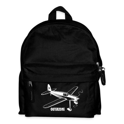Outerzone t-shirt, white logo - Kids' Backpack