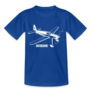 Outerzone t-shirt, white logo - Kids' T-Shirt