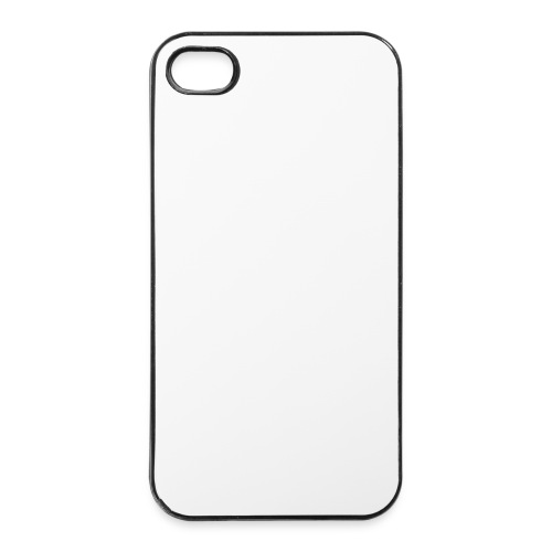 Outerzone t-shirt, white logo - iPhone 4/4s Hard Case
