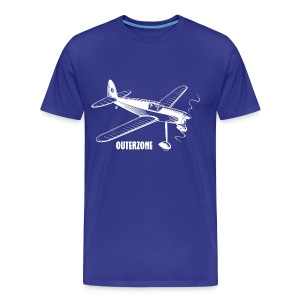 Outerzone t-shirt, white logo - Men's Premium T-Shirt