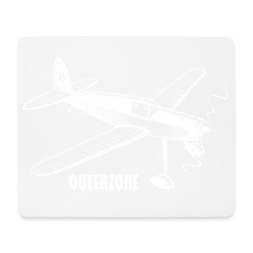 Outerzone t-shirt, white logo - Mouse Pad (horizontal)
