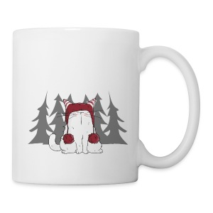 Mrou le chat Winter is coming - Tasse