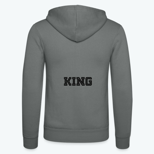 Unisex Hooded Jacket by Bella + Canvas - Our donators are kings for us. All profit goes to our charity Light of Love e.V. So it's simple to be a king #beaking