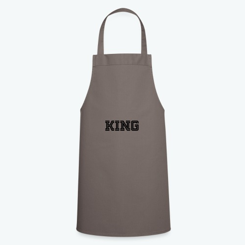 Cooking Apron - Our donators are kings for us. All profit goes to our charity Light of Love e.V. So it's simple to be a king #beaking