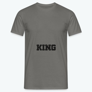 Men's T-Shirt - Our donators are kings for us. All profit goes to our charity Light of Love e.V. So it's simple to be a king #beaking