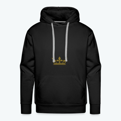 Men's Premium Hoodie - Our donators are kings for us. All profit goes to our charity Light of Love e.V. So it's simple to be a king #beaking