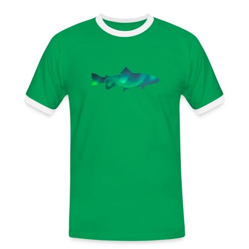 Fish Borealis - T-shirt contrasté Homme