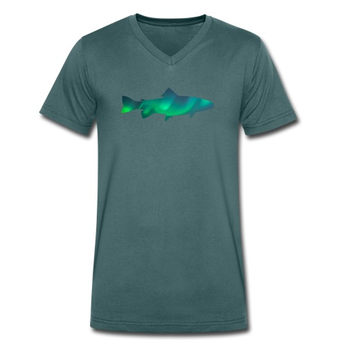 Fish Borealis - T-shirt bio col V Stanley & Stella Homme