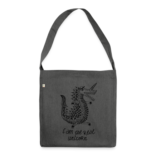 Crococorn - Schultertasche aus Recycling-Material