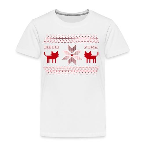 Christmas Cats - Camiseta premium niño