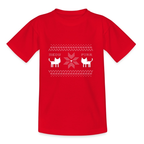 Christmas Cats - Camiseta niño