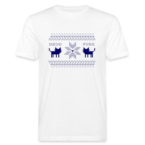 Christmas Cats - Camiseta ecológica hombre