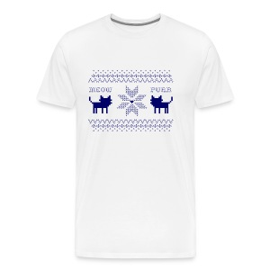 Christmas Cats - Camiseta premium hombre