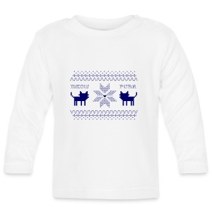 Christmas Cats - Camiseta manga larga bebé