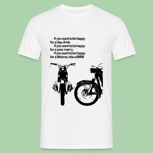 BMW Vintage Motorcycles  - Maglietta da uomo