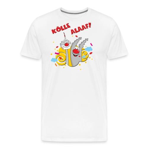 Karneval Kölle Alaaf RAHMENLOS Geschenk Fasching - Männer Premium T-Shirt