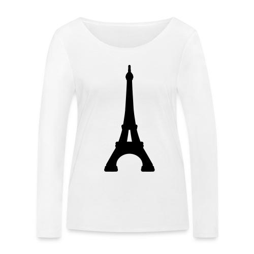 paris - Camiseta de manga larga ecológica mujer de Stanley & Stella